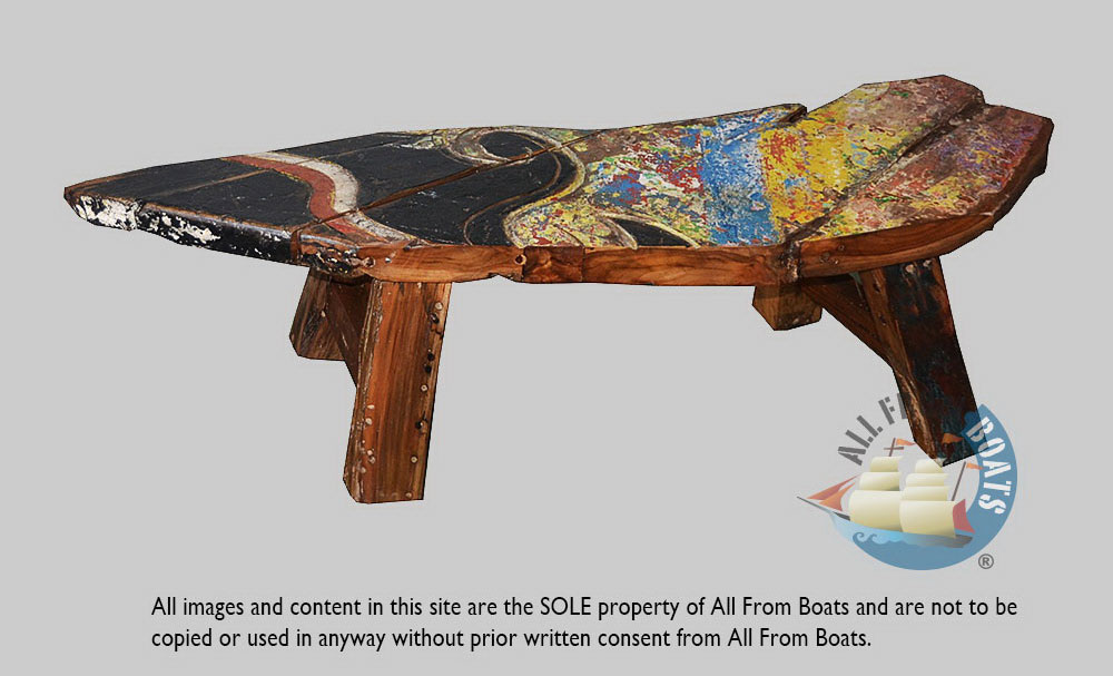 boat wood andre bench 2
