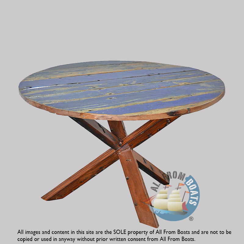 Tables: Round Table, Boatwood Colors