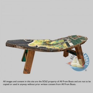 boat wood andre bench