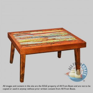 coffee tables out of boatwood