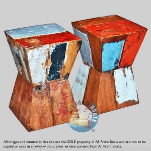 stools out of boatwood