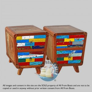 drawer chests out of boatwood