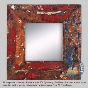 mirror frames out of boatwood