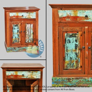 cabinets out of boatwood
