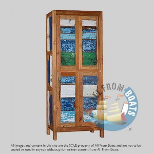 boat wood cabinet