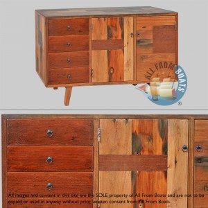 sideboards out of boatwood
