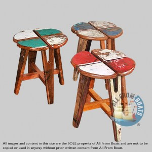 stool out of boatwood