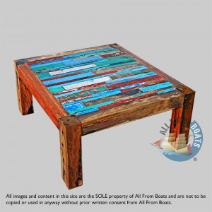 coffee table out of boatwood