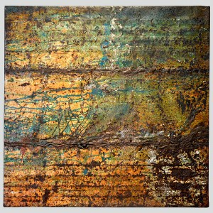 rust_art_gallery_abstract_iron_wall_decoration_painting_beige_brown_green_ke83544