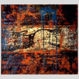 rust_art_gallery_abstract_iron_wall_decoration_painting_black_brown_blue_ke83539