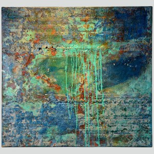 rust_art_gallery_abstract_iron_wall_decoration_painting_blue_green_ke83540