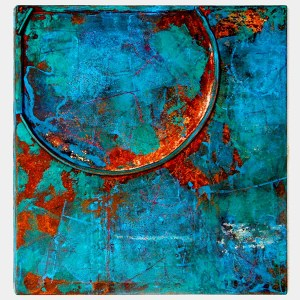 rust_art_gallery_abstract_iron_wall_decoration_white_blue_green_rust_collage_ke83483